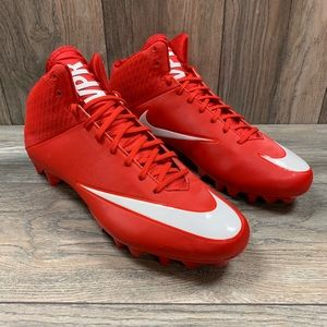 Nike Vapor Speed Red Football Cleats